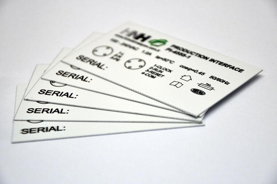Paslanmaz Metal Etiket